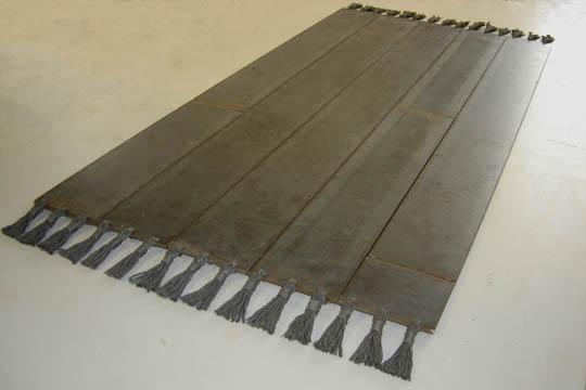 Rugged. Steel,steel wool. 170 x 77cm.jpg